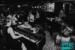 photo of Emily + Jordan performing | Howl2GO | Dueling Pianos | Live Wedding Band