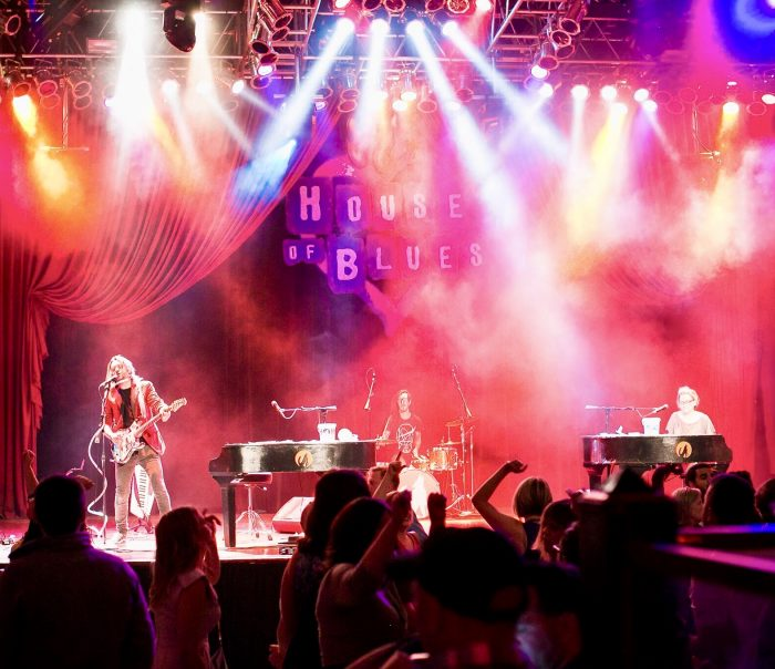 book house of blues event with dueling pianos