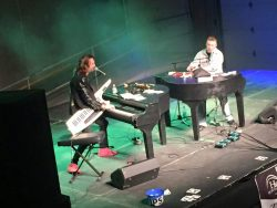 book live music for a charity event in illinois - dueling pianos is a perfect choice for your guests