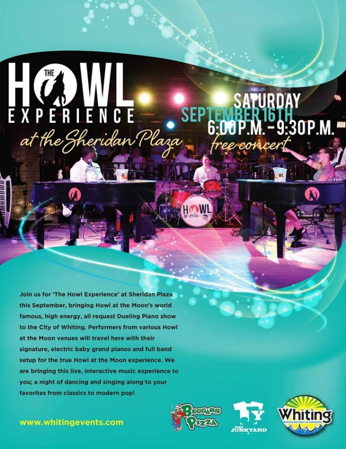 the annual howl2go show is always a sold out success each year in whiting in. we also book our show for local corporate and civic fundraisers as well as weddings